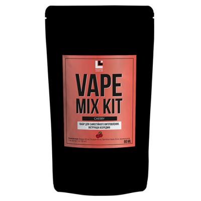 Купить Премикс набор Vape Mix Kit salt - Cherry 30ml  по оптимальной цене и доставкой по Киеву и Украине.