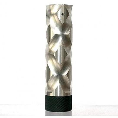 Купить Механический мод Comp lyfe - Double Cross 18650 SS + Button Copper