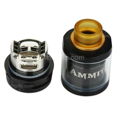 Купить Атомайзер GeekVape Ammit RTA Dual coil 25mm Black