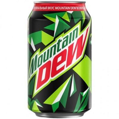 Купить Сладкая вода Mountain Dew 330ml  EU