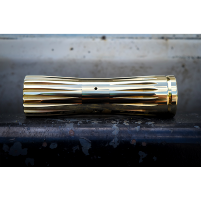 Механический мод Comp Lyfe - Piranha 18650   Brass 24mm