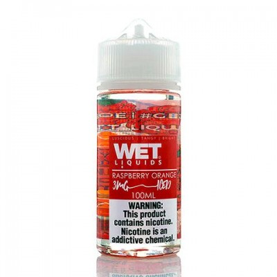 Жидкость WET - Raspberry Orange Iced 100ml