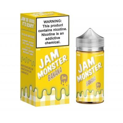 Купить Жидкость Jam Monster - Banana 100ml