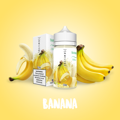Купить Жидкость Skwezed - Banana 100ml