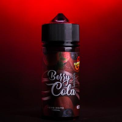Жидкость Flamingo - Berry Cola 100ml