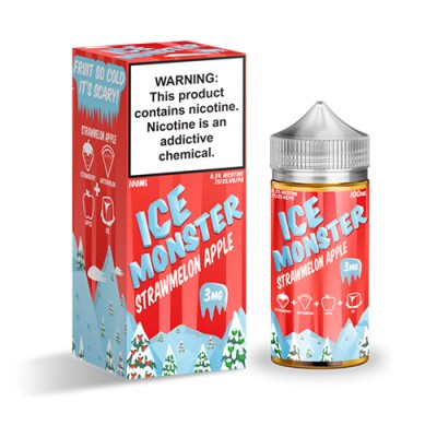 Жидкость Ice Monster - Strawmelon Apple 100ml