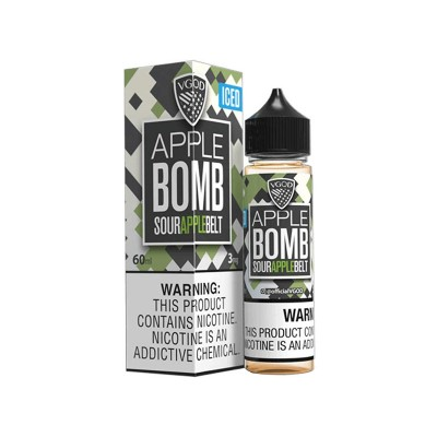 Жидкость VGOD - Apple Bomb Iced 60 ml