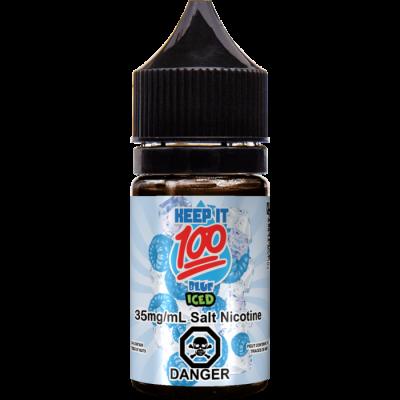 Купить Жидкость Keep it 100 salts - Blue Slushie 30ml  по выгодной цене и доставкой по Киеву и Украине.