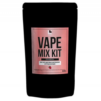 Набор Vape Mix Kit salt - Strawberry 30ml