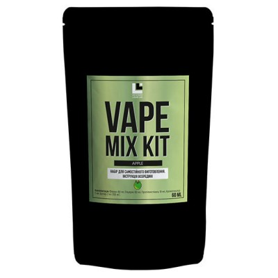Набор Vape Mix Kit salt - Apple 30ml