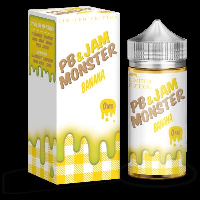 Жидкость Jam Monster - PB Banana 100ml