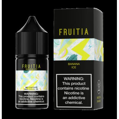 Жидкость Fruitia SALT - Smooth Banana Ice 30ml