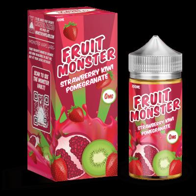 Жидкость Fruit Monster - Strawberry Kiwi Pomegranade 100ml