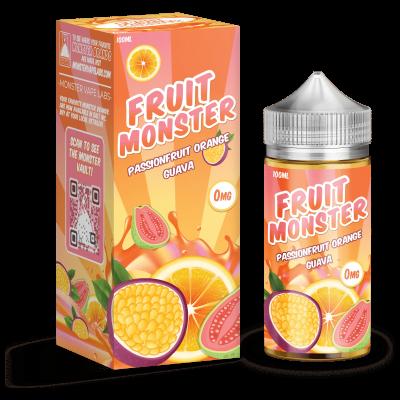 Жидкость Fruit Monster - Passionfruit Orange Guava 100ml