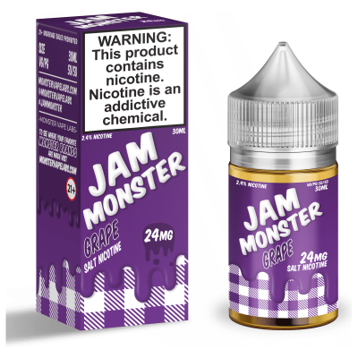 Жидкость Jam Monster SALT - Grape 30ml